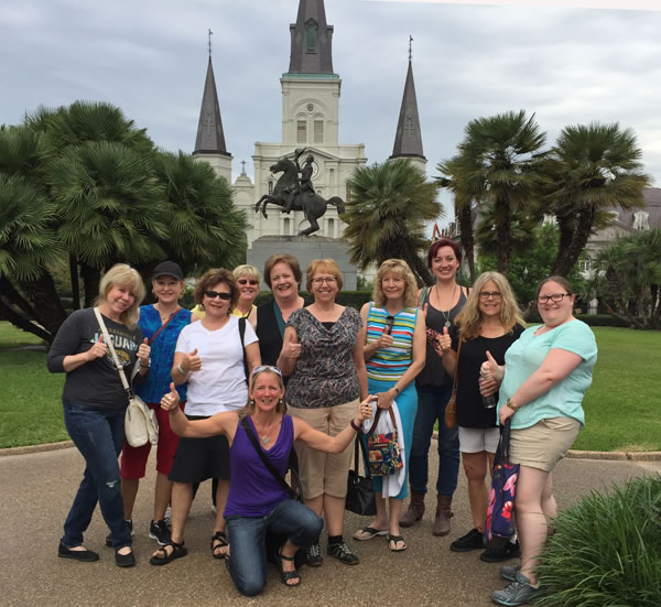 New Orleans womens Tour Group