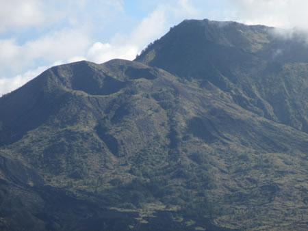 Mt Batur from Lookout