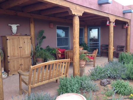 New Mexican porch