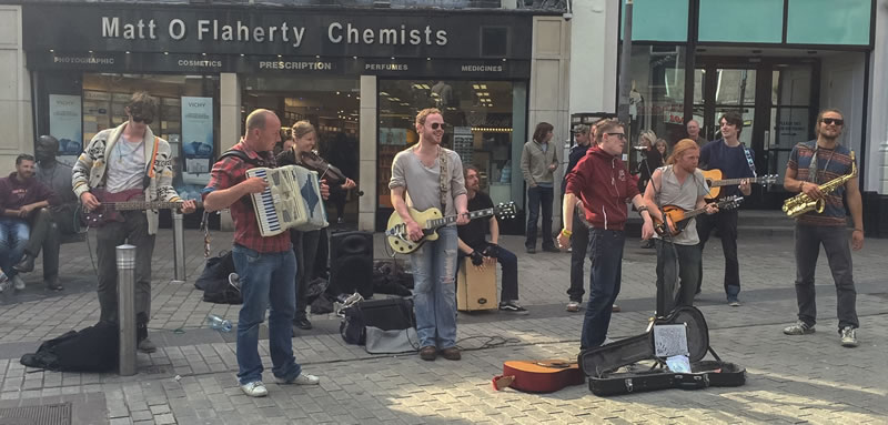 ireland galway buskers