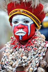 Papua New Gunie Goroka Traditional Dress by The Keys
