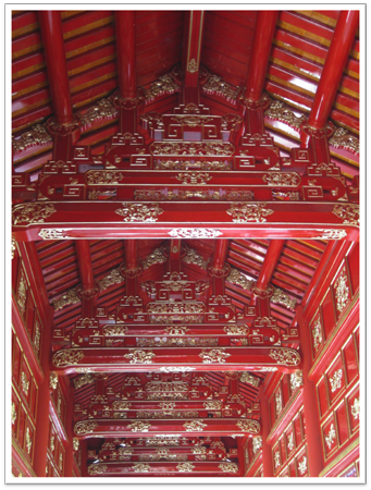 Ceiling at Forbidden City
