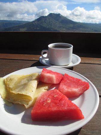 Mt. Batur Breakfast