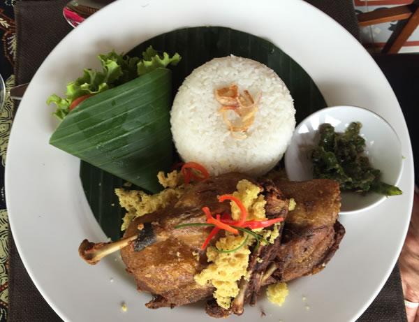 Lunch in Bali