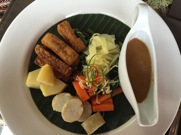 Lunch plate, Bali
