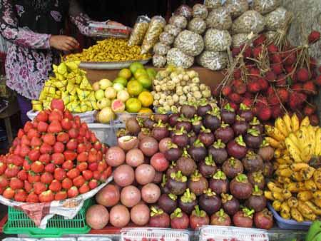 Fruits at market, Ubud Bali