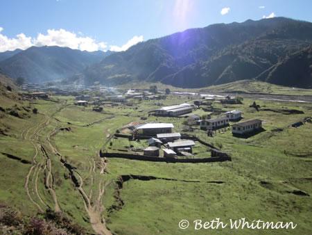 Sakten in Eastern Bhutan
