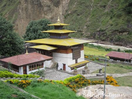 Dzong in Eastern Bhutan