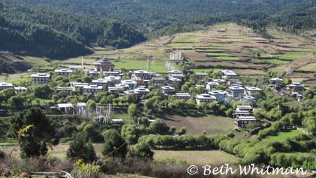 Valley in Eastern Bhutan