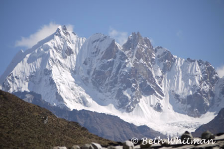 Mountain view from Laya camp