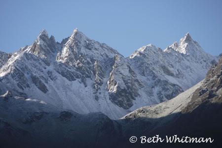 Mountains in Laya