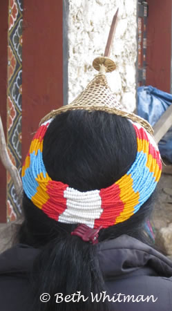 Laya woman with hat