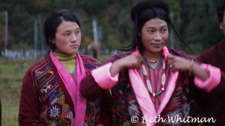 Women in Eastern Bhutan