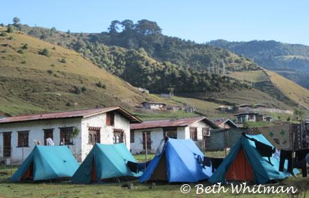 Tents in Sakten