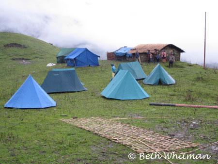 Tents in Merak