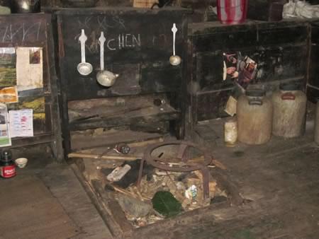 Typical kitchen in Sakten