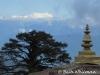 Himalayas at Dochu la Pass