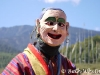 Clown at Bumthang festival