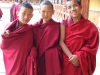 3 Monks at Temple