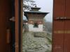 Doorway with Chorten in Bhutan