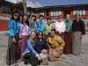 Group in Kiras in Bhutan