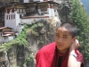 Monk at Tiger\'s Nest