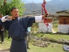 Tshering with bow