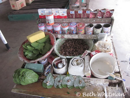 Betel Nut vendor in Burma