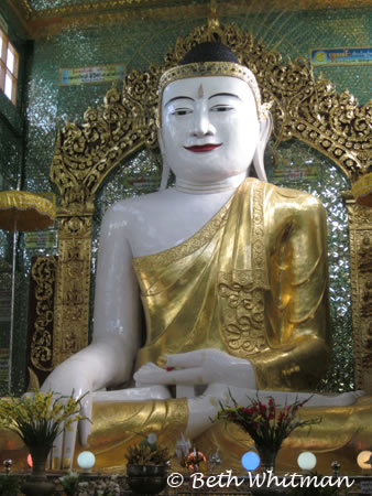Buddha Statue Burma in Yangon, Burma