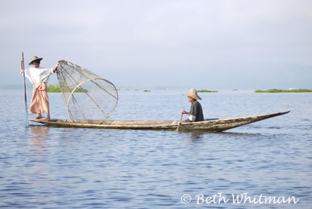 Fishing on Inle Lake, Burma