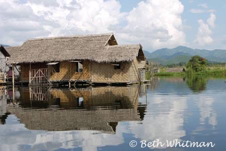 Home on Inle Lake, Burma