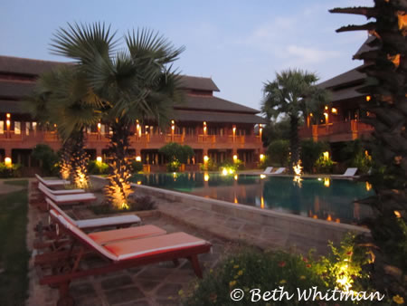 Hotel in Bagan, Burma