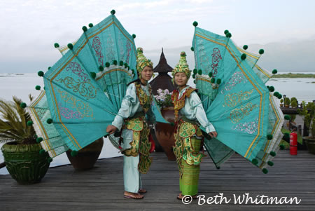 Performers at Inle Lake, Burma