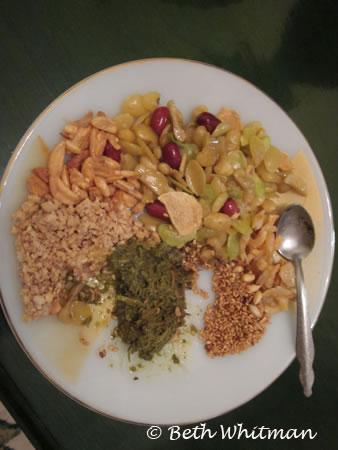 Burmese snack