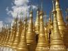 Golden Spires in Mandalay
