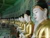 Pagodas in Mandalay, Burma