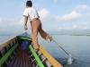 One-legged rower on Inle Lake, Burma