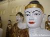 Shwedagon Buddhas in Yangon, Burma