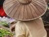 Woman vendor in Hat on Inle Lake, Burma