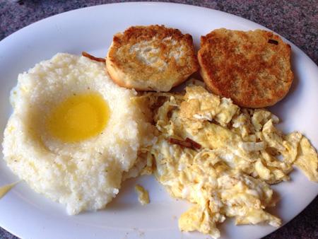 Breakfast at Clover Grill