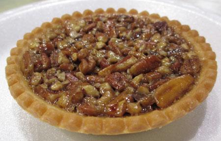 Pecan Pie at Cooking School