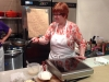 Barbara flipping crepe