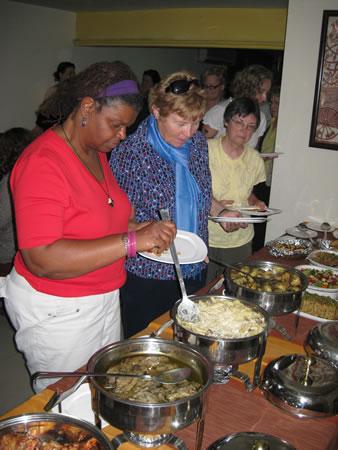 Lunch buffet in Delhi