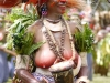 Woman in Headdress at Sing Sing