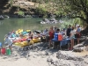 Lunch along the Rogue River