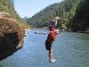 River jumping!