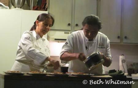 Lois Ellen Frank Cooking