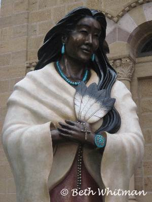 Statue in Santa Fe
