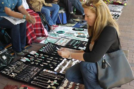 Shopping at Santa Fe Plaza