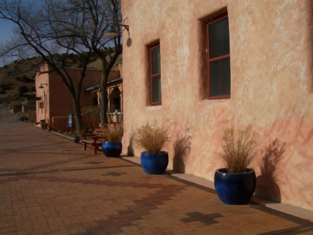 Buildings at Ojo Caliente